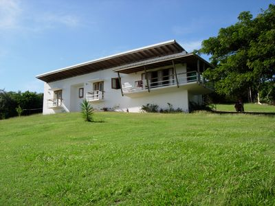 Vieques Island cottage rental - front of house