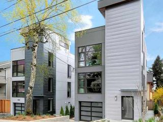 Seattle house photo - like stylish modern new construction - 5 star green construction - highest rate