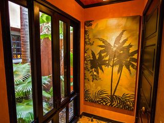 Tamarindo house photo - Beautiful Artwork at Entrance