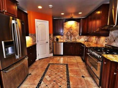 Spacious, fully equipped kitchen is always there, if you need it.