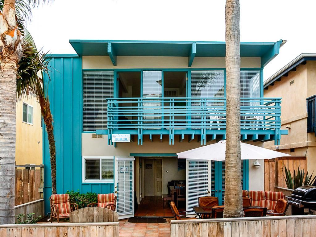 Stylish mission beach home w ocean views homeaway san for San diego county cabin rentals