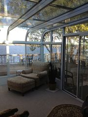 Langley house photo - Sunroom overlooking lake