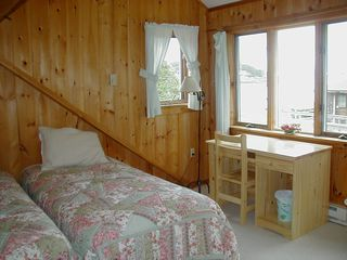 Harpswell house photo - View of Upstairs Bedroom in Smaller Cottage