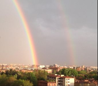 A gift from Heaven - a double rainbow! Come enjoy all this with us!