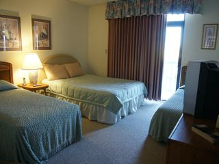 Virginia Beach condo photo - Bedroom 2, Balcony, Private Ensuite