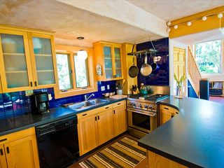 Taos house photo - My custom gourmet kitchen I built with the awesome commercial range