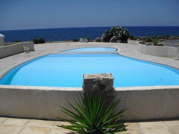 Chlorakas villa rental - Pools with Sea Views