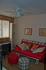 Tucson condo photo - Den w Futon counts as the 2nd Bedroom, TV, WiFi, workspace