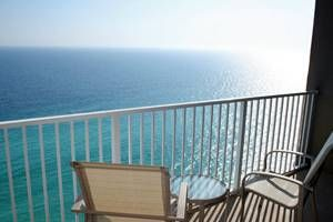 Hear the waves and enjoy sunsets on balcony