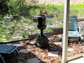 Provincetown townhome photo - Garden Patio off of Bedroom