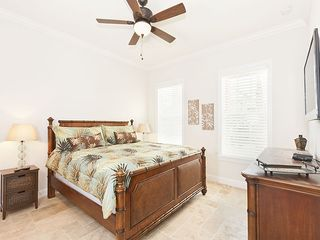 "Palm Coast house photo - First Floor Bedroom 3 with king bed and 42"" HDTV"