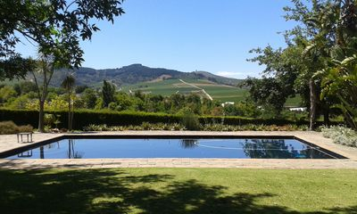 Tour wine farms, explore Cape Town, visit beaches or just relax next to the pool