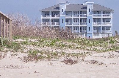 Galveston condo rental - View from the Beach