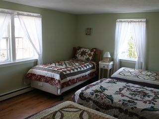 Yarmouth townhome photo - Second Bedroom (Four twin beds)