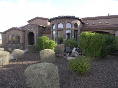 Cave Creek estate rental - Closeup of Front.