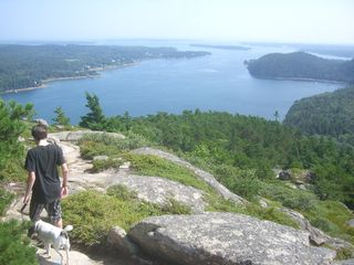Bass Harbor house photo - View over Somes Sounds from Acadia Mountain