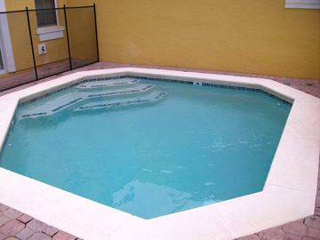 Private swimming pool, which can be heated in the winter!!!