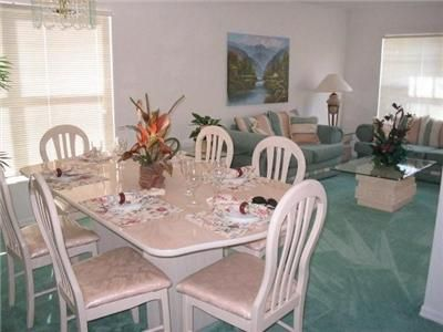 Westridge house rental - dining room