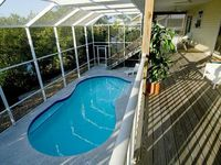 Beautiful Canal Front Home with Screened Pool