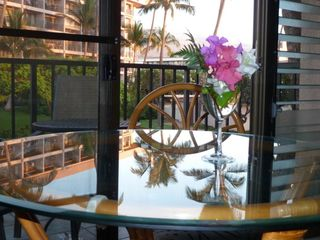 Kihei condo photo - Beautiful evening sunsets; Haleakala crater beyond.