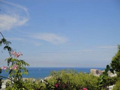 Mijas Costa apartment rental - Amazing View from the Terrace by day, Gibraltar can often be seen on the horizon