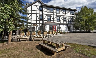 Sleeps 30-72 persons under 1 roof! On the BLUE RIVER