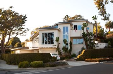 Santa Barbara house rental - Main front view.