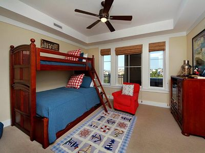 Bunk Room - Compass Point II, 422 - Watersound, FL - Bunk room with full bottom/twin top