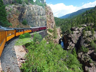 Catch the Durango-Silverton Train downtown or just 15 min south at Rockwood