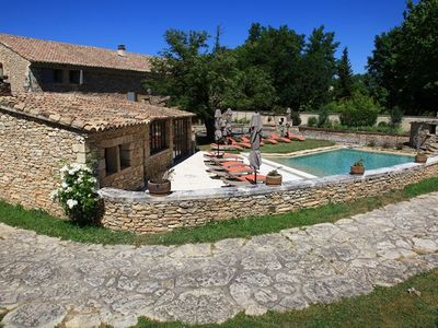 Mas dry stone with heated pool and barbecue