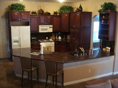 ourmet Kitchen, Granite, RO System, Instant Hot Water and Custom Cabinetry