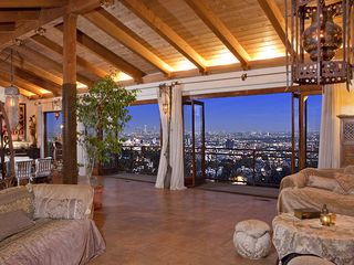West Hollywood house photo - Living room with view