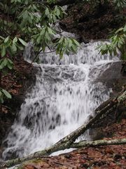 Dillsboro cabin photo - waterfall located on property behind home.