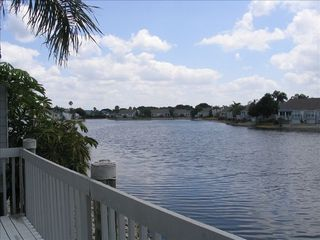 Bradenton condo photo - View from Deck & Lanai