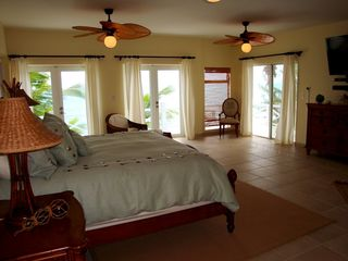 Great Exuma villa photo - Master honeymoon suite