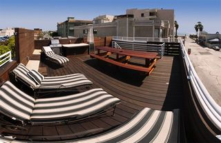 Venice Beach house photo - Roof top deck