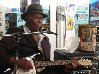 Robert Belfour at Cathead - live music around the corner from the apartment - Clarksdale apartment vacation rental photo