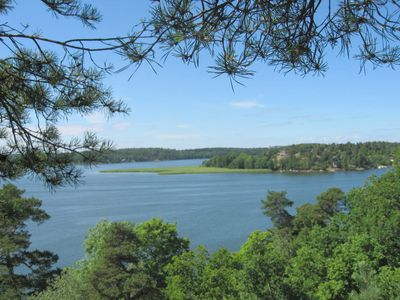 Stockholm cottage rental - Lake View