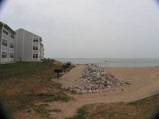 Port Clinton condo photo - Beach, more grills