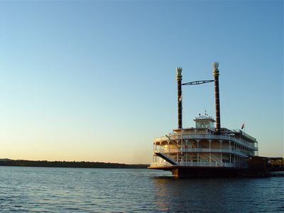 Take a dinner and show cruise on the Showboat Branson Belle