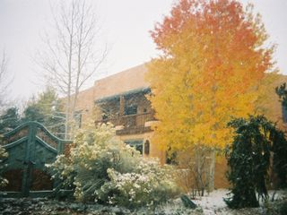 Taos estate photo - First snow at Dragonfly