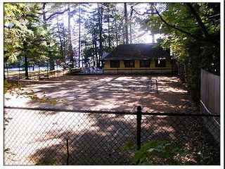 Lake George house photo - Clay Tennis Court
