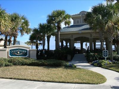 Private Pool and Beach Club - directly beside our condo with boardwalk to beach