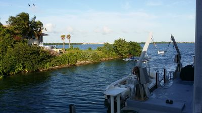 Great boating access- 150 feet from the Atlantic Ocean - 35 foot of dock space