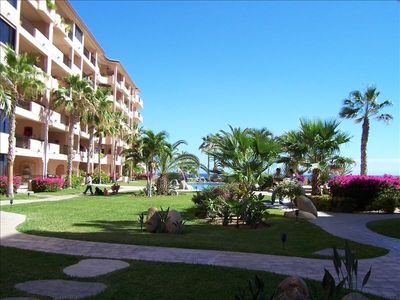 San Jose del Cabo condo rental - BEAUTIFUL MAINTAINED GROUNDS