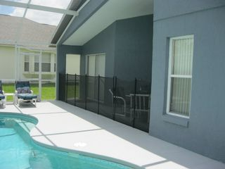 Haines City villa photo - Pool Area With Child Safety Fence