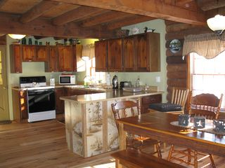 Madison cabin photo - Kitchen & Dinning