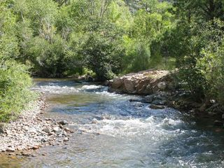 Santa Fe cabin photo - The Pecos River across the road