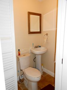 Key West house rental - half bath