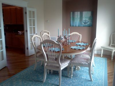 Dining Room seats up to eight people